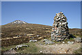 NN2851 : The Fleming Cairn on Rannoch Moor by Walter Baxter