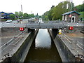 ST6172 : Netham Lock, Bristol - looking down the Feeder Canal by Anthony O'Neil