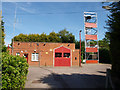 TL9903 : Tillingham Fire Station by Ken Moore