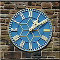 SO8996 : St Philip's Church clock in Penn Fields, Wolverhampton by Roger  Kidd