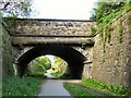 SJ9594 : Stockport Road Bridge by Gerald England