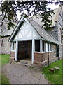 SD3687 : St Peter's Church, Finsthwaite, Porch by Alexander P Kapp