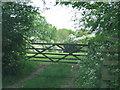 SP6535 : Gateway to field near Ground's Farm by Sarah Charlesworth