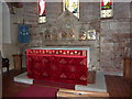 SD3687 : St Peter's Church, Finsthwaite, Altar by Alexander P Kapp