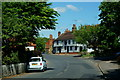 TQ5465 : High Street, Eynsford, Kent by Peter Trimming