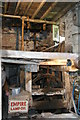 SO3228 : Pontynys Mill, Longtown, the machinery by Chris Allen