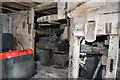 SO3659 : Staunton Mill - machinery by Chris Allen