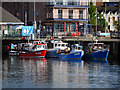 J5082 : Fishing boats, Bangor by Rossographer