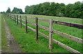 SU7590 : Bridleway near Turville Court by Graham Horn