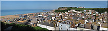 TQ8209 : Hastings Old Town & Seafront by Oast House Archive