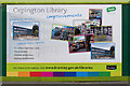 TQ4666 : New Orpington Library display by Ian Capper