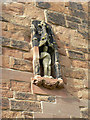 SP1798 : Statue of St John the Baptist by Alan Murray-Rust