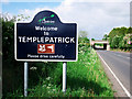 J2385 : Sign , Templepatrick by Rossographer