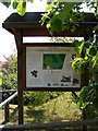 TM3068 : Badingham Pocket Park Notice Board by Adrian Cable