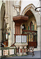 TQ2581 : St Stephen, Westbourne Park Road - Pulpit by John Salmon