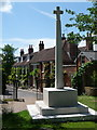 SU5517 : Bishops Waltham: war memorial and St. Peters Street by Chris Downer
