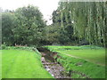 TQ4270 : The Kyd Brook, Sundridge Park Golf Course (3) by Mike Quinn