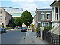 TQ2379 : Looking down Caxton road to Sterne Street by Ruth Sharville