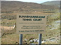 NB1104 : Tennis, but not on Sunday by Hazel Hambidge