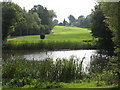 TQ4070 : Lake, Sundridge Park Golf Course (2) by Mike Quinn