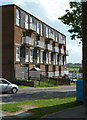SK3580 : Block of flats, Whinacre Place, Batemoor by Andrew Hill