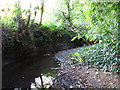 TQ4369 : The Kyd Brook, Gosshill Wood (6) by Mike Quinn