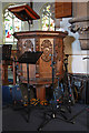 TQ2864 : Holy Trinity, Manor Road, Wallington - Pulpit by John Salmon