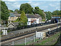 SK3578 : Looking across Dronfield station by Andrew Hill
