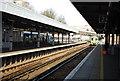 TQ8109 : Brighton train pulling into Hastings Station by N Chadwick