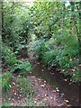 TQ4368 : The Kyd Brook south of Pond Wood (6) by Mike Quinn