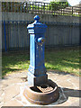 TQ3478 : Drinking fountain in Shuttleworth Park by Stephen Craven
