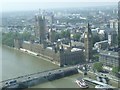 TQ3079 : Houses of Parliament, from London Eye by Malc McDonald