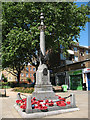 TQ3479 : West Lane war memorial by Stephen Craven