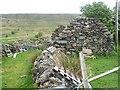 M0674 : Ruin and walls at Bohaun South by Oliver Dixon