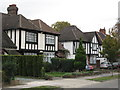 TQ4467 : Mock Tudorbethan houses, West Way, BR5 by Mike Quinn