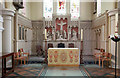 TQ2480 : St John the Evangelist, Lansdowne Crescent, Notting Hill - Sanctuary by John Salmon