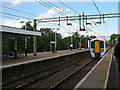 TL4411 : New train at Harlow Town station by Stephen Craven