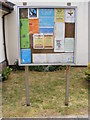 TM3353 : Notice Board of  the Church of St.Felix, Rendlesham by Adrian Cable