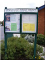 TM3353 : Rendlesham Village Notice Board by Adrian Cable