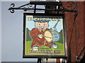 SO8555 : Inn sign in Lowesmoor by Philip Halling