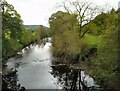 SK2668 : River Derwent by Gerald England