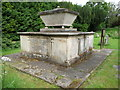 SO6376 : Tomb for Thomas Botfield in Hopton Wafers churchyard by Jeremy Bolwell
