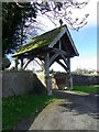 NZ2213 : Lych gate, The Church of All Saints' by Miss Steel