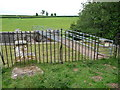 SO5373 : Footbridge over the Ledwyche Brook near Caynham Camp by Jeremy Bolwell