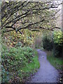 TQ4466 : Footpath west of Heath Side, BR5 (2) by Mike Quinn