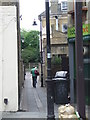 TQ3174 : Alley near Herne Hill station by Malc McDonald