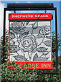 TR0145 : The Rose Inn sign by Oast House Archive