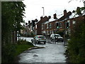 SK4178 : Top of Hornthorpe Road and houses on the main road by Andrew Hill