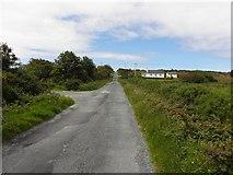B8929 : Road at Cnoc na hArdagh Bige by Kenneth  Allen