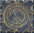 J4974 : Manhole cover, Newtownards by Rossographer